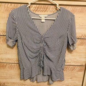 H&M Stripped Blouse